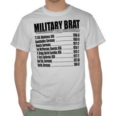 6bf57f7f Military Brat Tour Tees Uncle Gifts, Gifts For Dad, Best Dad Gifts, Cool