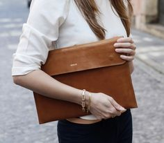 Leather Macbook 13 Sleeve, Leather Macbook Sleeve,Great for a gift on Etsy, $138.28