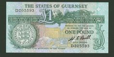 World Paper Money: Guernsey | eBay