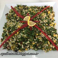 Aysel'in Mutfağı: PATLICANLI BUĞDAY SALATASI