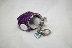 Cloth Diaper Key Chain Mini Cloth Diaper Accessories Key
