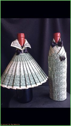 Gift Wrapping Ideas Bottles Deco with Dollar # Gift - Wrapping Ideas, Wrapping Gifts, Creative Gift Wrapping, Craft Gifts, Diy Gifts, Don D'argent, Best Graduation Gifts, Graduation Ideas, Graduation Parties