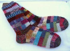 hand knit women's socks UK 5  6  US 7  9  38 39 by knitogethersox,