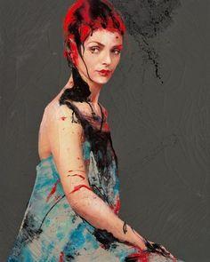 Lita Cabellut, la pintora gitana
