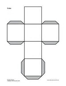 Op Art Cubes Template  Bing Images  Art Class Ideas