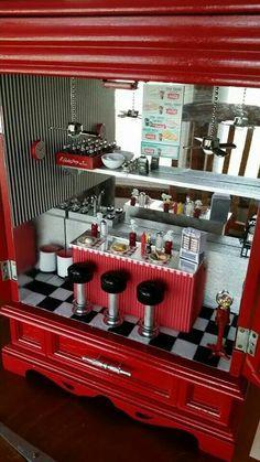 ♡♡ Diner Diorama