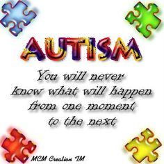 This is so true and for someone who needs to have every minute planned out, I find it funny that I enjoy teaching children with autism.