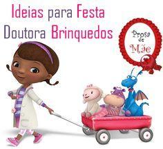 Ideias para Festa Doutora Brinquedos