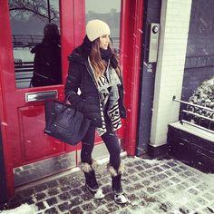 So this is what real snow looks like? #NYC ��...... @liketoknow.it www.liketk.it/ZjEE #liketkit