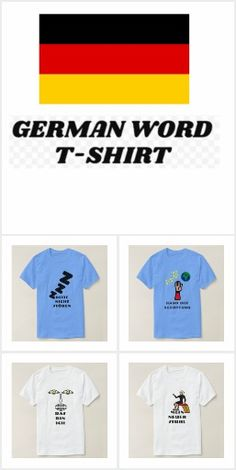 ZierNorShirt: products on Zazzle German Words, Random Stuff, How To Make, T Shirt, Collection, Tops, Design, Fashion, Random Things