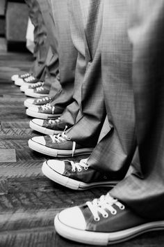 This is a legit requirement for my wedding: Groomsmen Gray Chuck Taylors