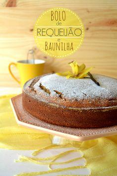 Sweet Gula: Bolo de Requeijão e Baunilha