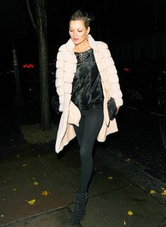 What Kate Moss Wore to Madonna's House Party via @WhoWhatWearUK