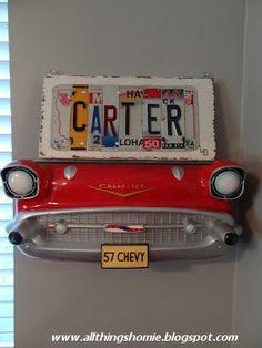 All Things Homie: Carter's Vintage #Chevy Nursery Reveal! - LindsayChevrolet.com #chevrolet