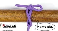 Innomiknot- the knot without a name - Paracord guild Snake Knot Paracord, Paracord Braids, Quick Release Knot, Knot Out, Evening Makeup, Paracord Projects, Long Lashes, Key Fobs, Tie The Knots