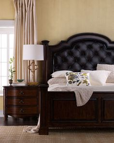 Chesterfield Bed Glam Bedroom, Home Bedroom, Bedroom Furniture, Master  Bedroom, Furniture Projects