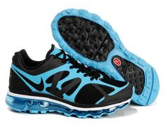 Nike Air Max 2012 Black Blue