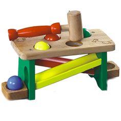 Miniwarsztat - drewniana zabawka zręcznościowa