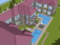 House 68 full view #sims #simsfreeplay #simshousedesign