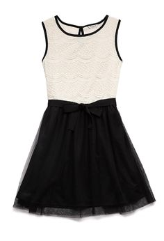 Dainty Lace Dress (Kids) | FOREVER21 girls Pretty in lace #Juniors #Ribbon #ForeverHoliday