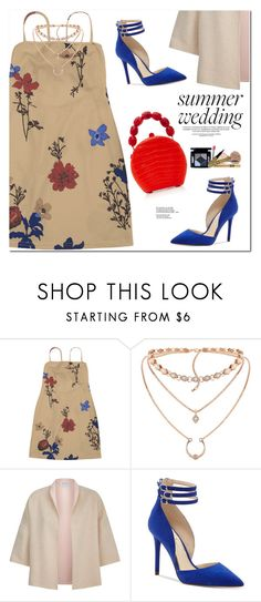 """""""Summer Weddings"""" by oshint ❤ liked on Polyvore featuring MaxMara, Jessica Simpson and Nancy Gonzalez"""