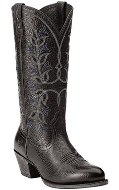 Ariat New West Women's Black Desert Holly Traditional Toe Western Boots | Cavender's