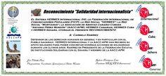 Reconocimientos 2014: Carmelo Ramírez Distinción Solidaridad Internacionalista