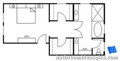 master bathroom floor plans 15
