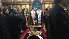 Η ταφή του Μητροπολίτου Αχελώου Ευθυμίου στο Αγρίνιο