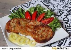 Karbanátky z patizonu a uzeného masa recept - TopRecepty.cz Tandoori Chicken, Meat, Ethnic Recipes
