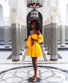 black girls in yellow dress ~ girls yellow dress Black Girl Fashion, Look Fashion, Fashion Outfits, Kids Fashion, Yellow Fashion, Black Girl Magic, Black Girls, Summer Outfits, Ebony Girls