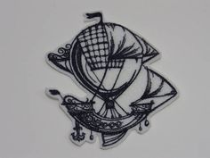 SteamPunk Iron-on Patch. Embroidered SteamPunk Patch. Sew-On