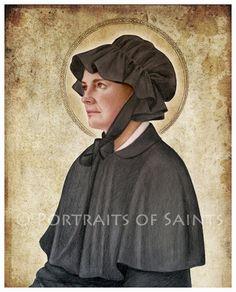 Saint Elizabeth Ann Seton Art Print Catholic Patron Saint