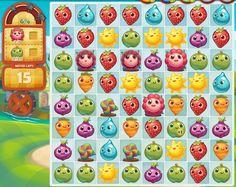 Well here is another fab title from the creators Farm Heroes Saga! Candy Crush Saga, Flappy Bird, Kings Game, Game Google, New Farm, Game Calls, Game Item, Farm Hero Saga, Ui Inspiration