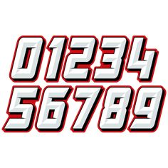 race car number fonts car number fontsWe use only the highest quality vinyl films to create high impact race car numbers race car decals . Graffiti Lettering Fonts, Typography Letters, Typography Design, Logo Design, Logo Sticker, Sticker Design, Graffiti Numbers, Football Fonts, Typography