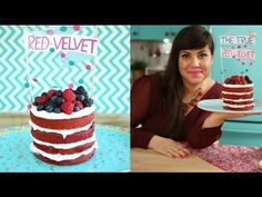 The original red velvet cake. How to make a very red red velvet cake with beets - all natural red food dye Res Velvet Cake, Bolo Red Velvet, Food Cakes, Receita Red Velvet, Baking Recipes, Cake Recipes, Natural Food Coloring, Baking Basics, Cupcakes