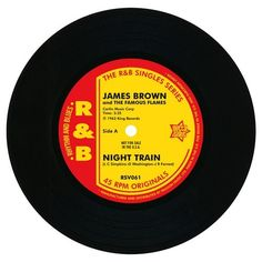 """James Brown & The Famous Flames - Night Train / Think 7"""""""