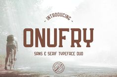 Onufry Font Duo by BART.Co Design on @creativemarket