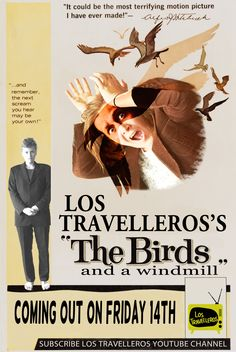 Hitchcocks's The Birds imitation. Check the video channel: http://pinterest.com/lostravelleros/los-travelleros-video-channel-/