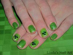 I *heart* St. Patrick's Day | Linda's Nail Art