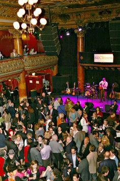 The Great American Music Hall - San Francisco, CA- possibly the best rock venue I've been in!