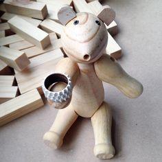 wood ring & bear