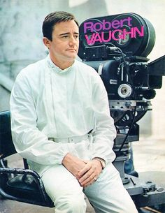 Robert Vaughn, The Man From Uncle, Tv Series, 1960s, Chef Jackets, Channel, Fandoms, Fandom, Tv Shows