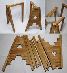 Gothic table tripods by wyverex on deviantART