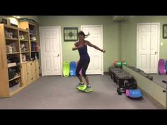 Simply Fit Board More Core with Rosalie Brown 2 of 3 - YouTube