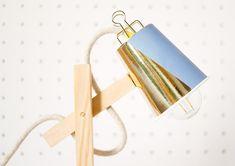 DIY Wood Lamp · DIY lámpara de madera · Fábrica de Imaginación