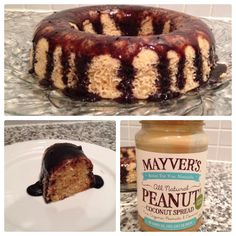 Ingredients Cake:  3 Eggs 3 Tbl Sp Mayver's Organic Peanut & Coconut Spread 6 Tb Sp Coconut milk 6 Tb Sp Desiccated Coconut 3 Tb Sp Sugar Free Maple Syrup 1 Tb Sp Baking Powder (not too full)  1 Tb Sp of Chia Seeds and LSA Meal (this is optional, it makes it more nutritious)  Topping: 2 Tb Sp Sugar Free Maple Syrup 1 Tb Sp Sugar Free Cocoa Powder   Method 1. Mix all ingredients in a bowl until the mixture is uniform and somewhat liquid.   2. Pour mixture to a microwave safe dish and cook for…