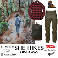 Your next outfit for a walk in the woods -> #giveaway on She-Explore.com!