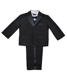 Kaifer Little Boys' Toddler 5-Piece Tuxedo (Sizes 2T - 4T) $29.99