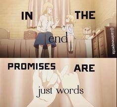 Promises will always breaks